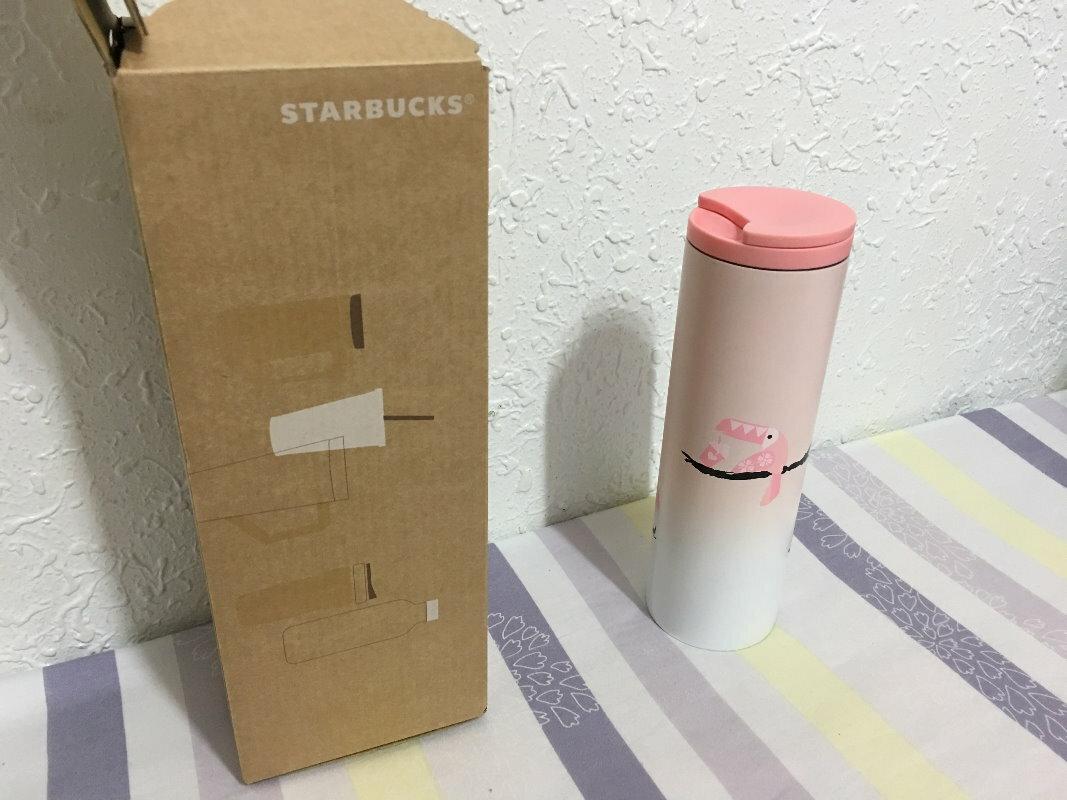星巴克 星巴客 STARBUCKS 不鏽鋼 保溫瓶 保溫杯 保溫壺 粉色 粉紅色