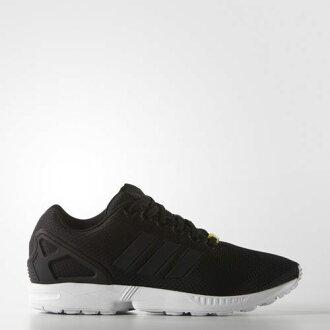 ADIDAS ORIGINALS ZX FLUX 男鞋 女鞋 慢跑鞋 休閒 編織 黑 白 黃標 【運動世界】 M19840