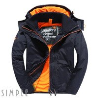 Superdry極度乾燥-男外套/風衣推薦到精選男款㊣ 滿4000領券再折100!Superdry 極度乾燥 男款 Pop Zip Arctic SD-Windcheater 連帽防風夾克就在SIMPLE推薦Superdry極度乾燥-男外套/風衣