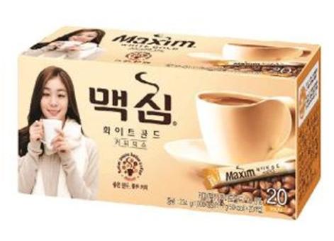 韓國 DongSuh Maxim 三合一即溶咖啡(WHITE 金牌) 234g