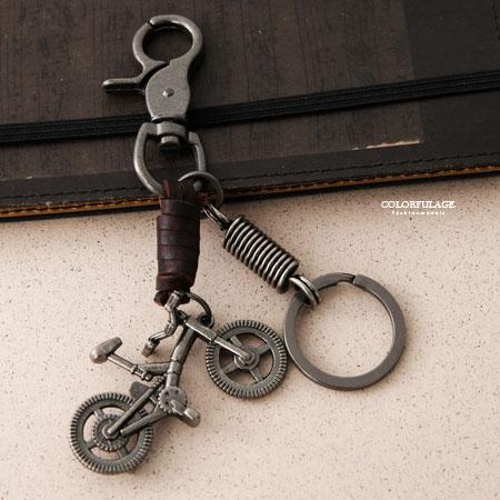 立體卡打車造型鑰匙圈掛於包包腰間柒彩年代【NF76】腰間吊飾