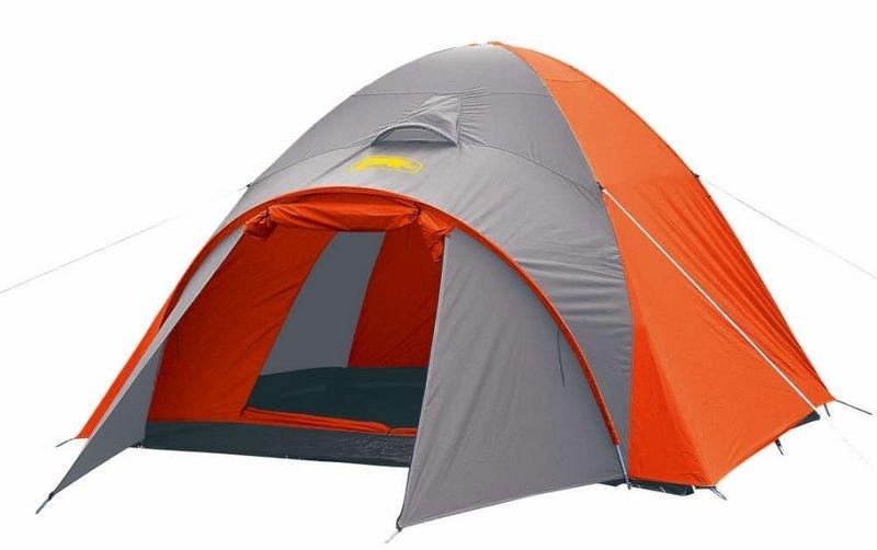 【露營趣】中和 送鋁箔墊手電筒 台製 犀牛 RHINO A-350 四季用豪華帳篷 四人帳 4人帳 露營帳篷 登山帳篷