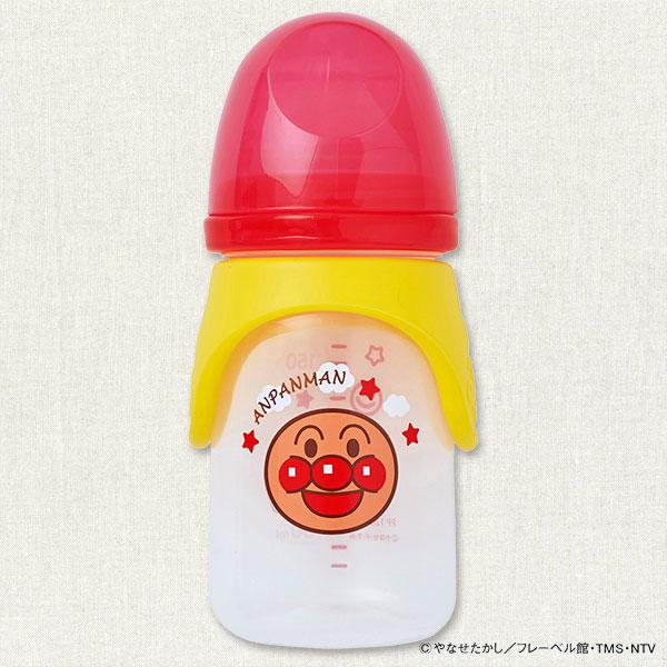 麵包超人160ml寬口奶瓶附隔熱套3個月以上日本帶回正版商品