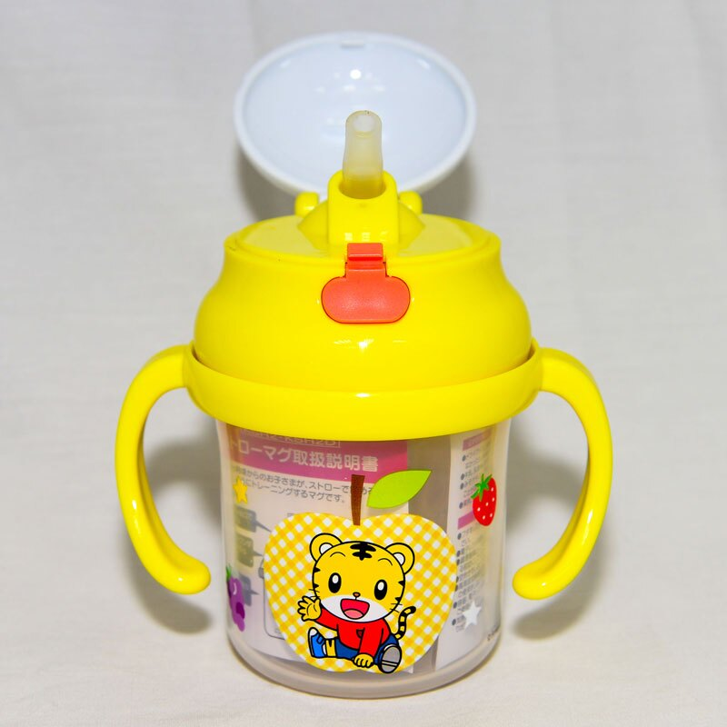 巧虎巧連智 隱藏吸管 幼兒學習水杯 230ml 8個月以上 日本限定正版品