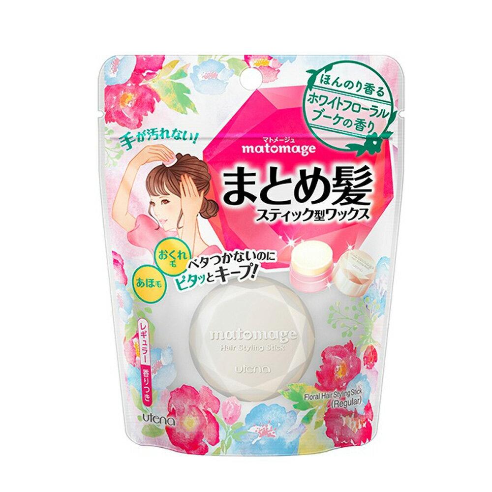 日本 Utena Matomege 魔髮球定型髮臘(花香味) 13g