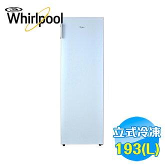 惠而浦 Whirlpool 193公升風冷無霜直立式冰櫃 WIF1193W