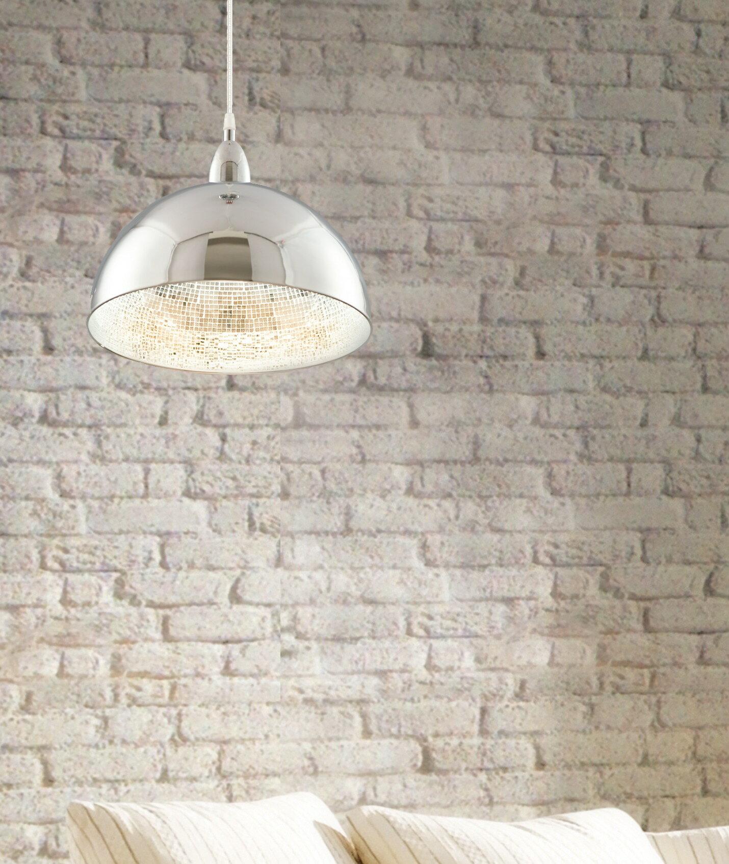 內貼鏡面玻璃馬賽克金屬吊燈-BNL00083 2
