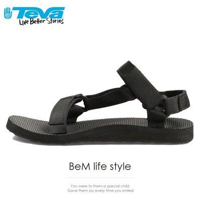TEVA  美國 經典織帶涼鞋 TV1003987BLK 女鞋 1