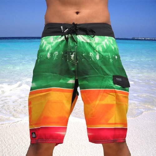 【$ 990 出清↘】28 . REEF 夏日熱情夏威夷REEF 型男必備海灘褲 .多彩《全店滿 899 用APP結帳 輸入