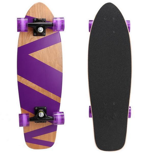 27inch Wooden Cruiser Style Skateboard Deck Skate Board 3