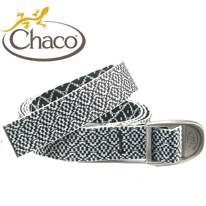 Chaco 圖騰腰帶/開瓶器腰帶/帆布皮帶/美國佳扣 女款 CH-CB006 HD35 黑白花彩
