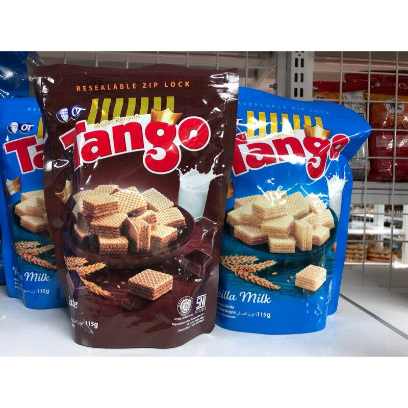 Tango**超好吃 威化餅乾 115g  巧克力威化餅 ce香草牛奶威化餅