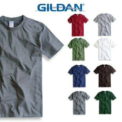 吉爾登GILDAN美國棉素T 圓領 GD美式休閒-石楠灰 0