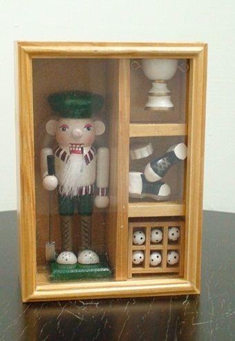 ~Playwoods~^~胡桃鉗~娃娃兵^~芭蕾童話糖果王國  木製 人偶~ 系列~高爾夫