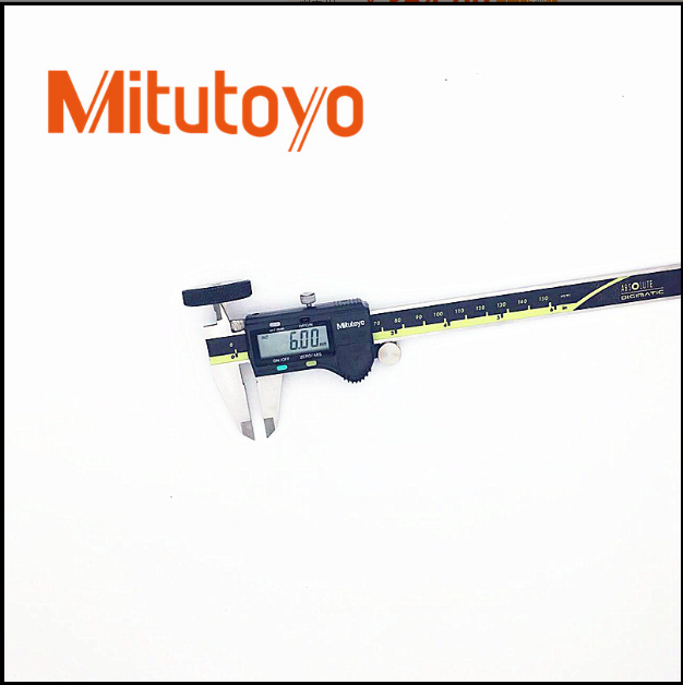Mitutoyo三豐數顯卡尺0-150高精度電子數顯游標卡尺200 300mm 免運