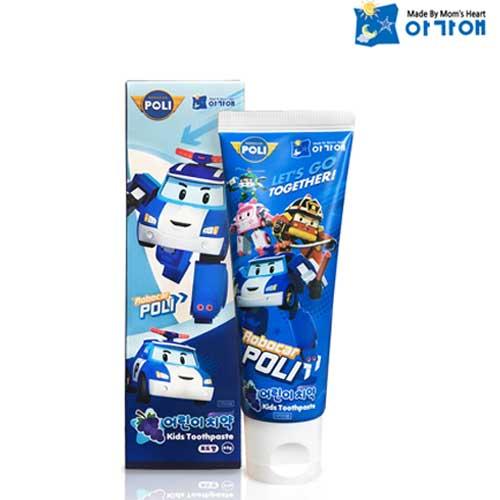 波力救援 波力 小英雄 兒童牙膏 葡萄口味 (年齡3歲以上) 80g