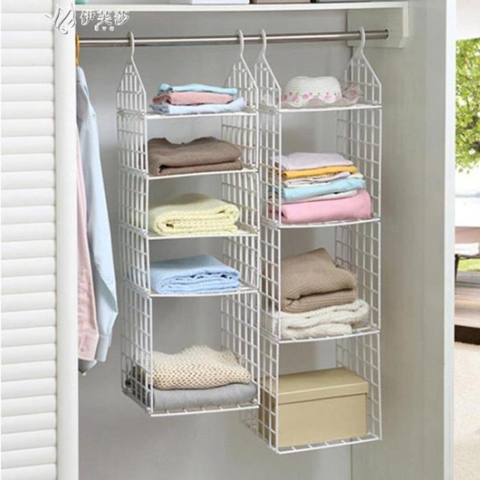 宿舍衣柜收納掛袋塑料衣櫥包包懸掛式收納袋內衣收納架子儲物掛袋