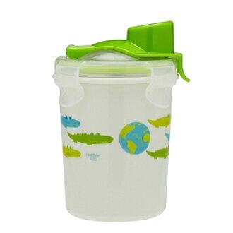 美國 Innobaby 不鏽鋼吸管水壺(不鏽鋼防漏水杯) 可分離式 240ml / 8oz 綠色 *夏日微風*