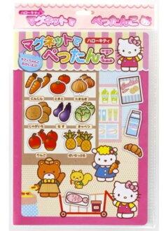 日本銀鳥 Hello Kitty 創意遊戲磁鐵書(磁鐵遊戲書) *夏日微風*