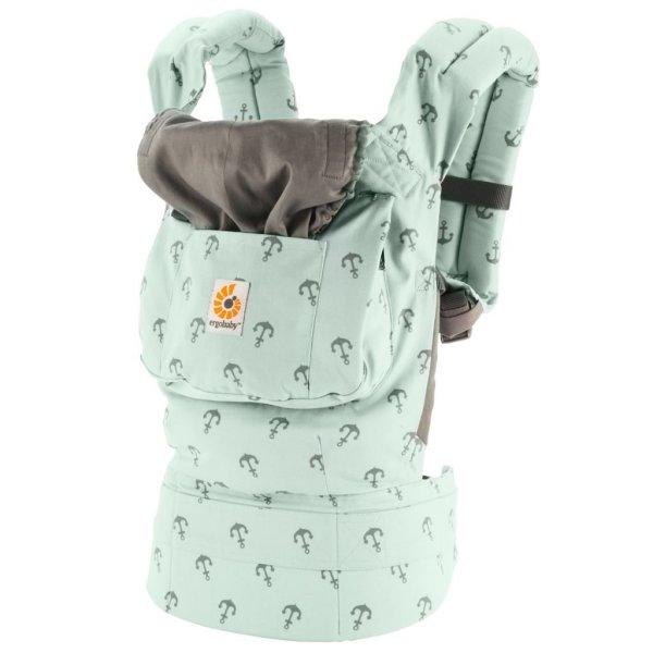 美國 ERGObaby 爾哥寶寶背巾 標準款 海藍艦隊 ERGO baby(買再送) *夏日微風*