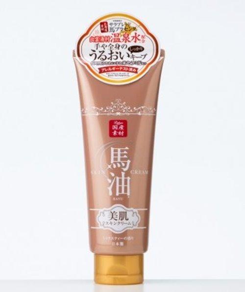 日本製 北海道馬油保濕潤膚乳霜(柑橘茶香+出雲溫泉水) 200g*夏日微風*