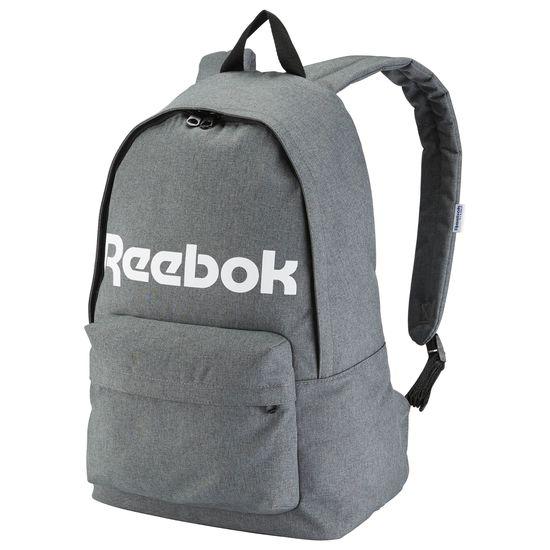 REEBOK BACKPACK Royal 後背包 運動 休閒 帆布 深灰 白【運動世界】AY3367