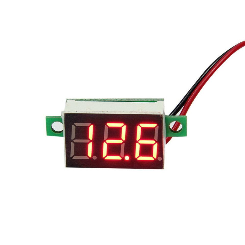 『直流電壓表』液晶數字電壓表、紅色LED、數字調節表、電壓表、指示器