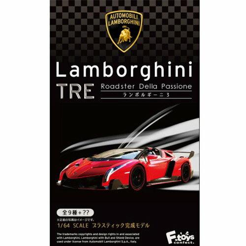 兩個一組 隨機出貨【日本進口】1/64 藍寶堅尼 跑車 盒玩 擺飾 模型 F-TOYS Lamborghini - 602951