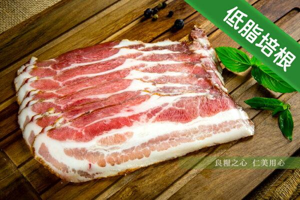 仁美良食:三源樂活豬低脂培根_切片(100g包)