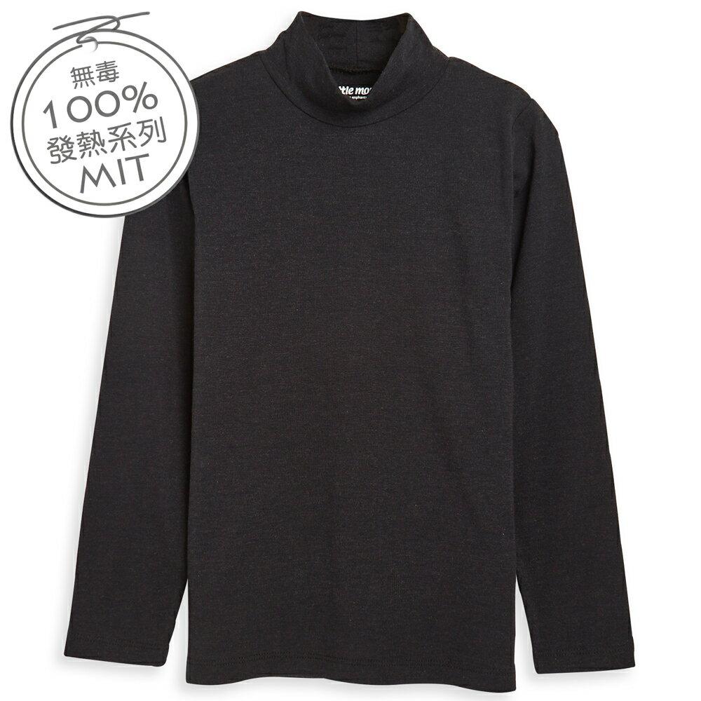 Little moni 發熱紗高領上衣-黑色(好窩生活節) 0