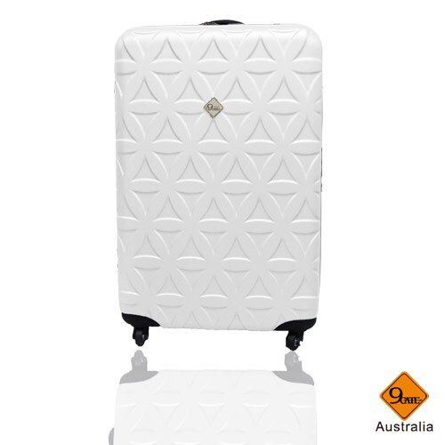 Gate9花花系列ABS霧面20吋輕硬殼旅行箱 / 行李箱    聖誕交換禮物推薦 3