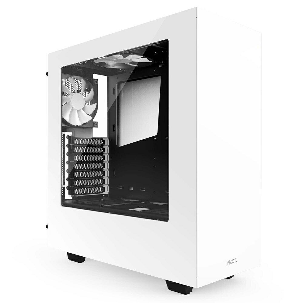 【迪特軍3C】NZXT 恩傑 電腦機殼 Source 340 (2)小 機殼(白色) S340