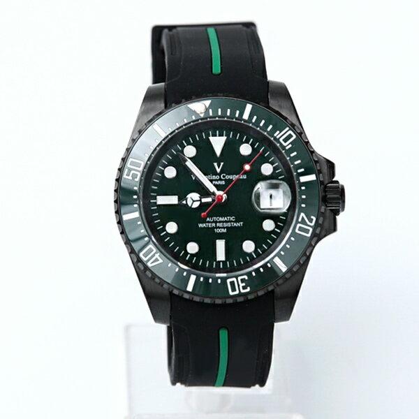 范倫鐵諾˙古柏夜光橡膠機械錶柒彩年代【NEV46】正品原廠公司貨