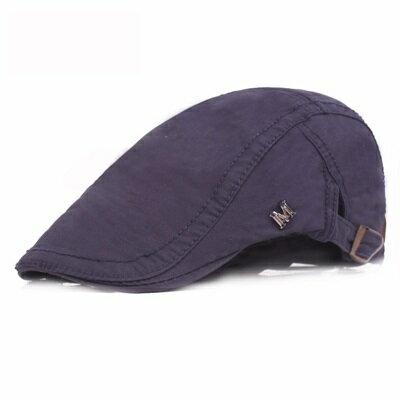 貝雷帽鴨舌帽-純色M標休閒戶外男女帽子5色73tv214【獨家進口】【米蘭精品】