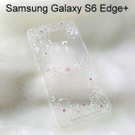 施華洛世奇彩鑽透明軟殼 [第一眼] Samsung G9287 Galaxy S6 Edge Plus