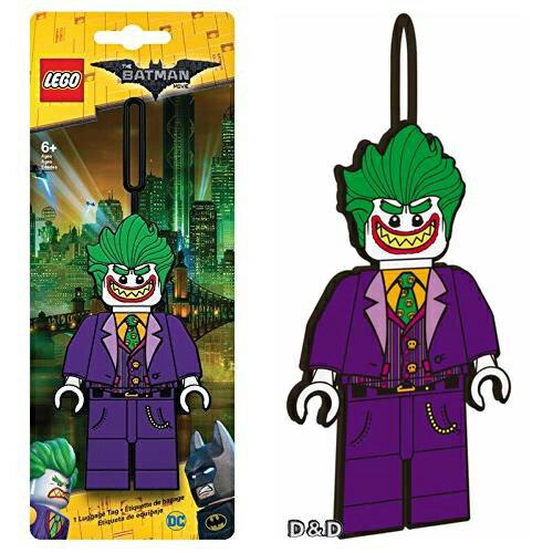 【 樂高積木 LEGO 】 樂高蝙蝠俠電影-小丑行李吊牌