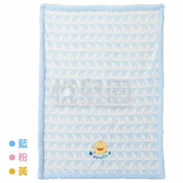 Piyo黃色小鴨幾何象四季毯禮盒-藍粉黃【附提袋】【悅兒園婦幼生活館】