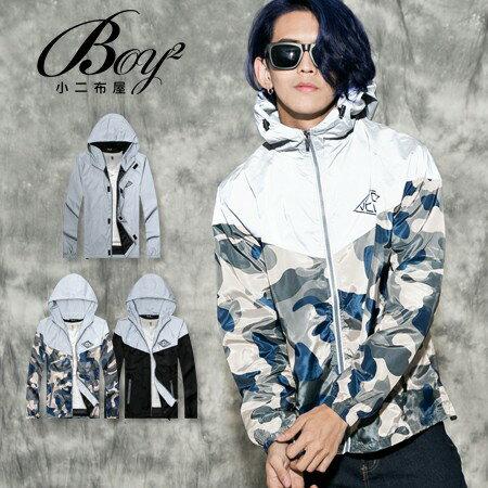 ☆BOY-2☆【PPK88020】美式反光VESTI防風夜光風衣外套 0