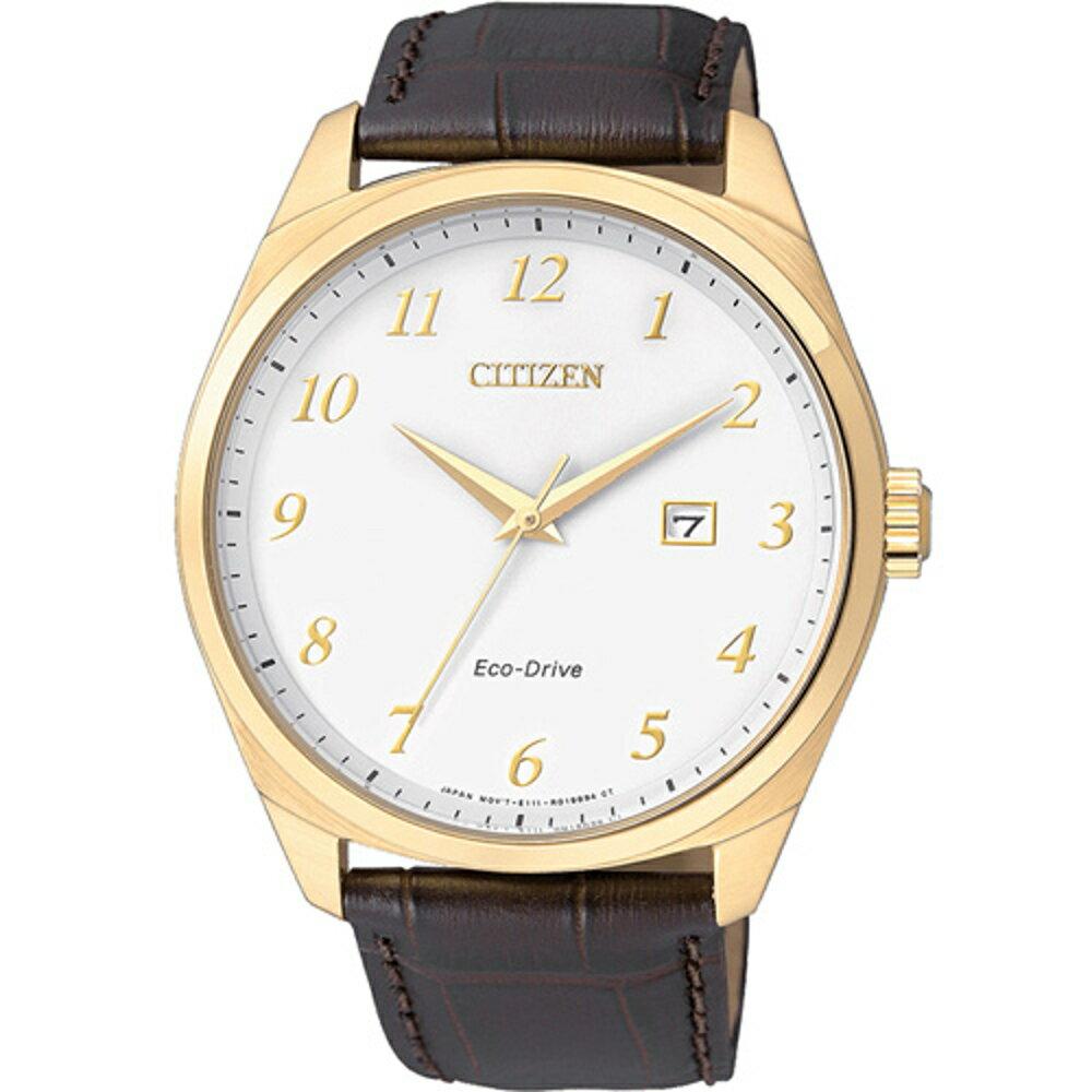 寶時鐘錶 星辰 CITIZEN Eco-Drive 光動能紳士時尚腕錶  BM7322-06A