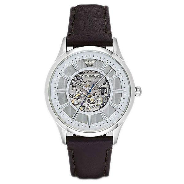 EMPORIO ARMANI/AR1946 雅痞機械時尚腕錶/白面43mm