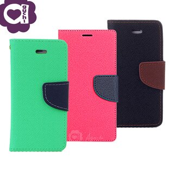 AppleiPhoneX經典雙色馬卡龍手機皮套側掀支架式皮套矽膠軟殼抗震防摔桃綠黑棕多色可選