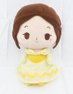 X射線【C170114】美女與野獸BeautyandtheBeast貝兒13吋公主系列,絨毛填充玩偶玩具公仔抱枕靠枕娃娃