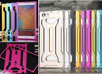 創美【A018】變形金剛 鋁合 金全包 金屬邊框+背蓋 金屬框 IPhone 6 plus Note 3 4 SONY Z3 手機殼 保護殼 保護套