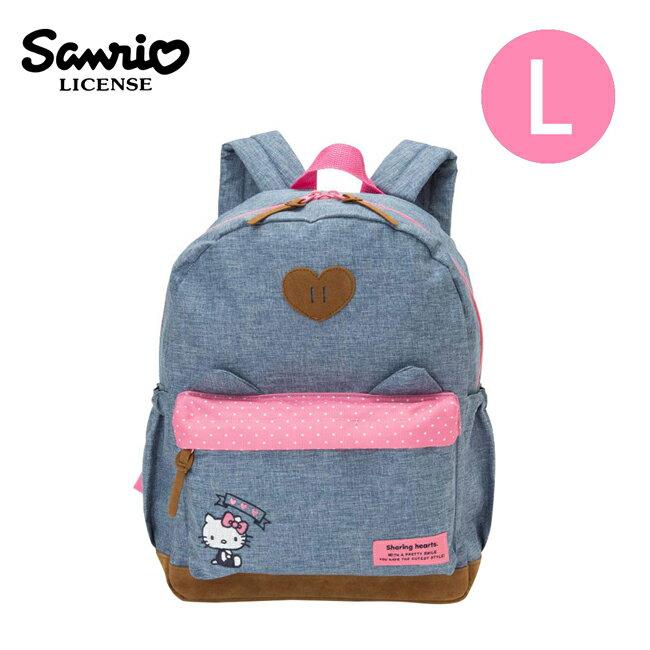 【日本正版】凱蒂貓 兒童背包 L號 後背包 背包 書包 Hello Kitty 三麗鷗 Sanrio