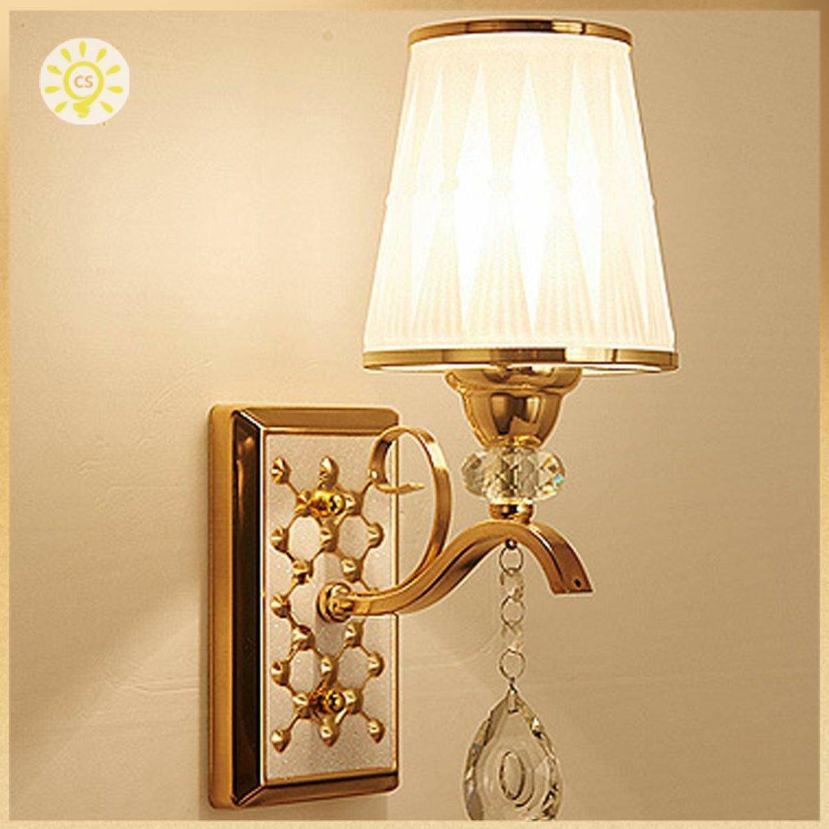 【全館免運】臥室客廳裝飾用的高亮LED水晶壁燈B111 clickstorevip