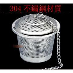 【調料球包-304不銹鋼-小號-4.9~3.2*3.5】調味球包 茶葉篩檢程式 味寶 鹵料球(外徑4.9內徑4,底徑3.2,高3.5cm,裝茶葉11g)-8001014