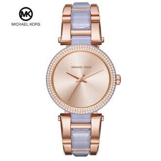 【MICHAEL KORS】正品 玫瑰金 強化鏡面 女錶 腕錶 石英錶  MK4319