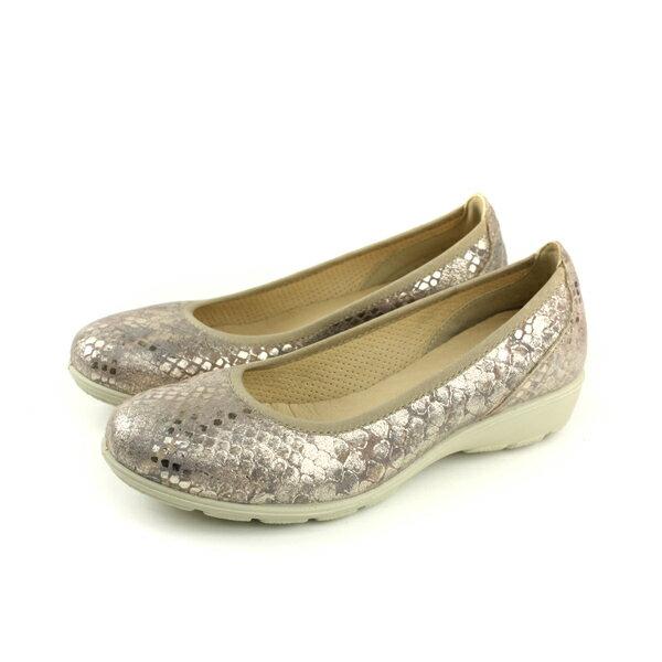 IMAC平底鞋休閒鞋義大利製金色女鞋106191.74443.013no019