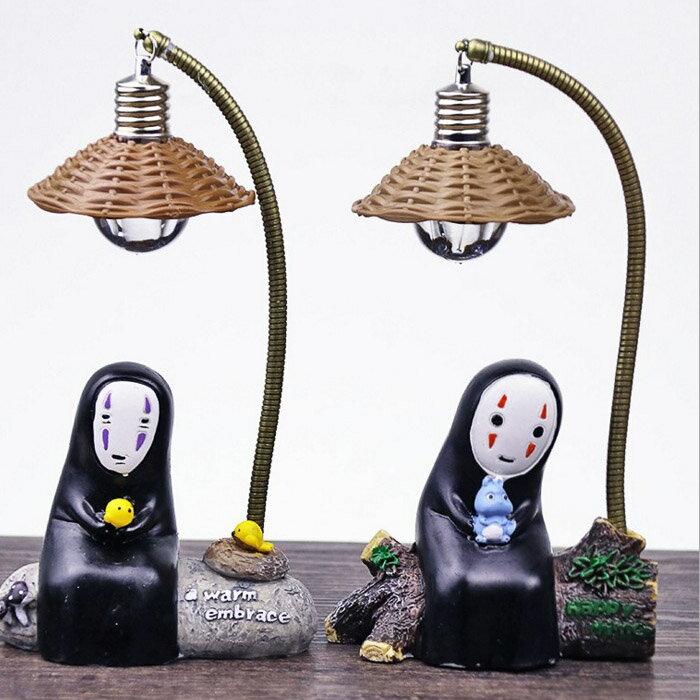 糖衣子輕鬆購【BA0212】zakka無臉男小夜燈千尋宮綺駿擺件裝飾小夜燈