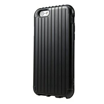 蘋果 iPhone 6 行李箱手機殼 RIMOWA行李箱激似款 經典黑 抗衝擊 手機套 保護套 高質感《ibeauty愛美麗》